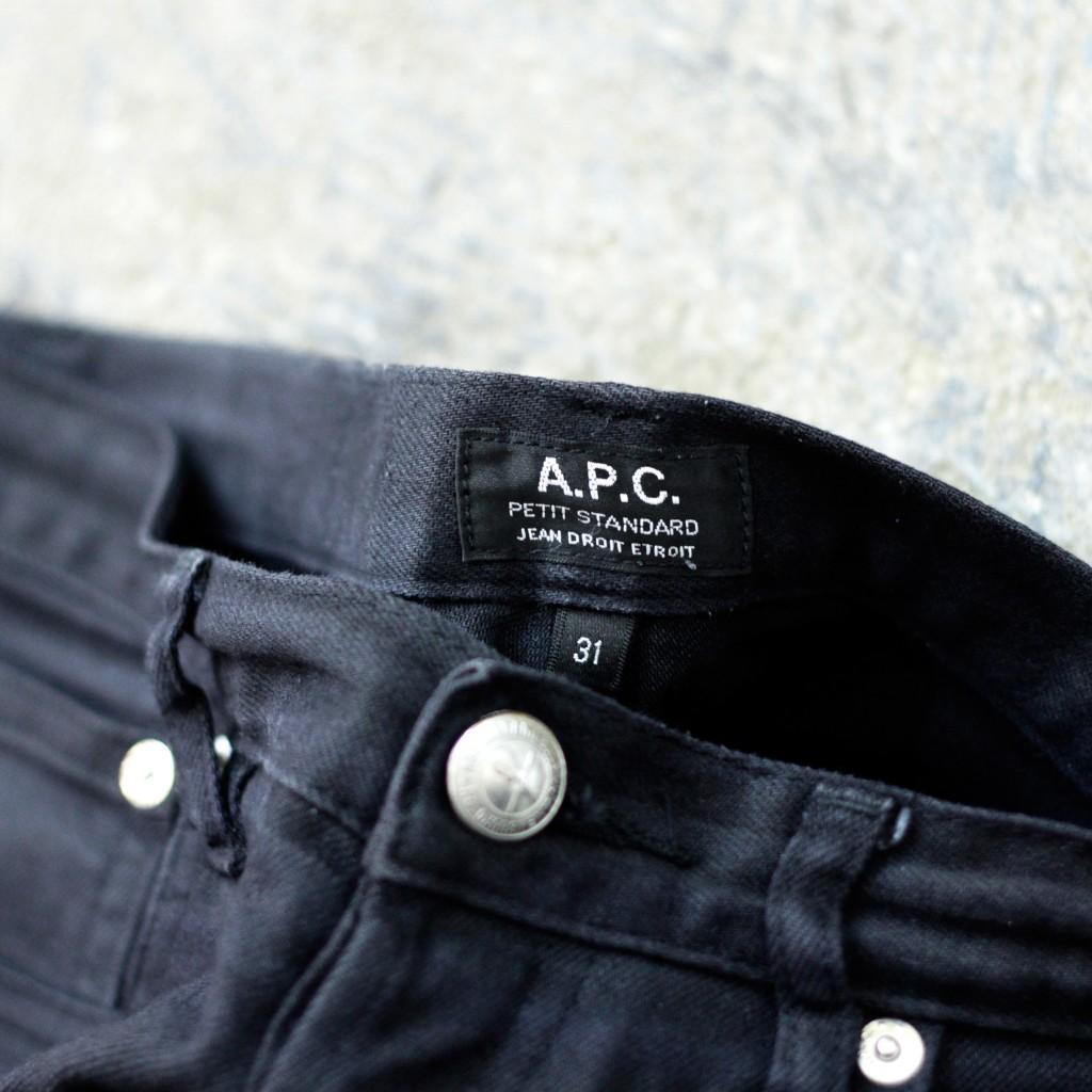 "A.P.C. Black Denim ""PETIT STANDARD"""