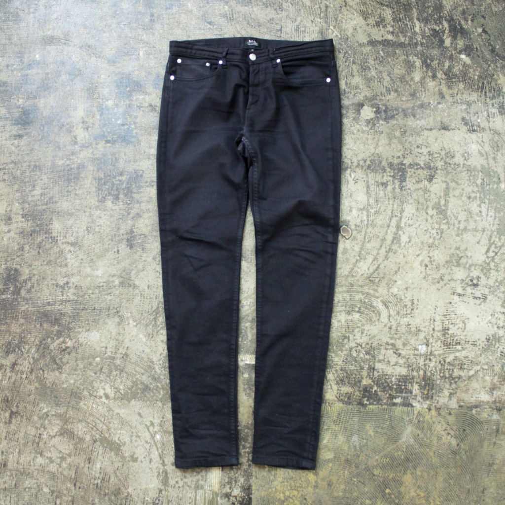 "A.P.C. Black Denim ""PETIT STANDARD"""