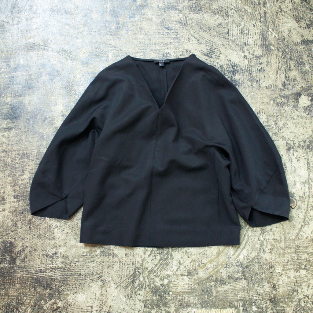 COS Volume Sleeve Pull Over Shirt