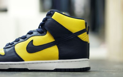 NIKE DUNK RETRO QS 'MICHIGAN'