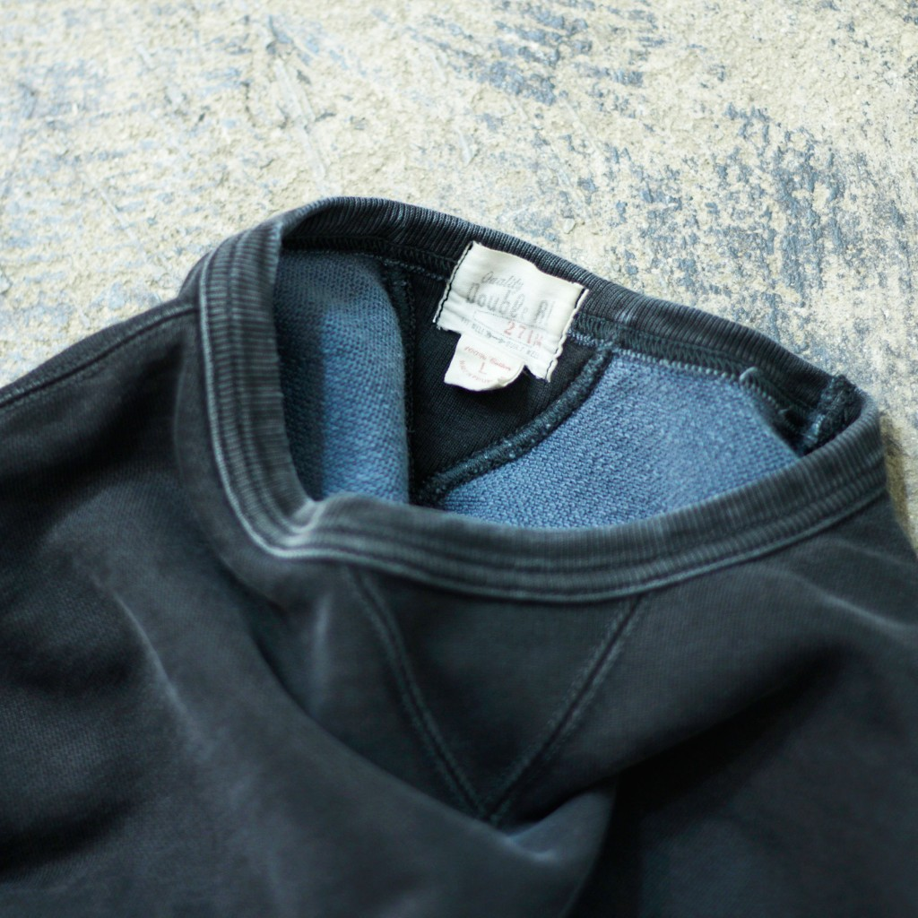 Double RL Black Indigo Crew Neck Sweat