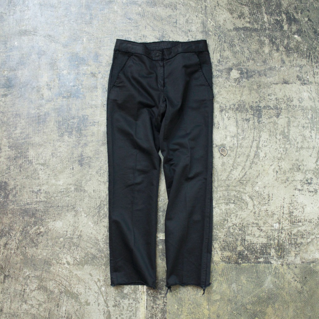 Martin Margiela ⑥ Cutoff Cotton pant