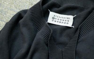 Martin Margiela ⑩ V-Neck Knit Made in ITALY