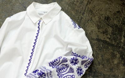 MAURIE & EVE Embroidery Over Shirt