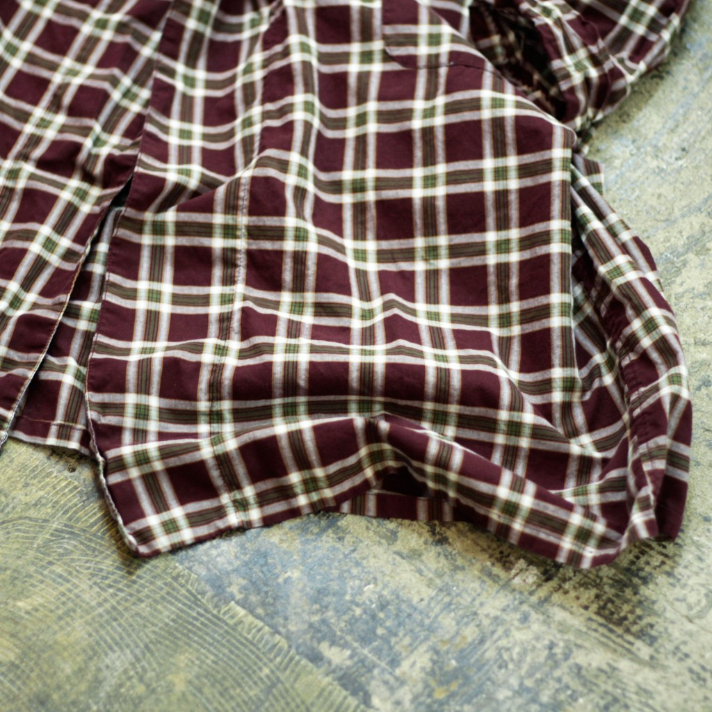 Roytex Vintage Check Long Gown