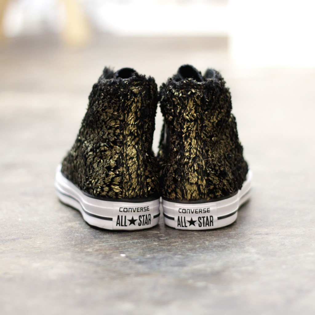 CONVERSE Metallic Fur All Star Hi