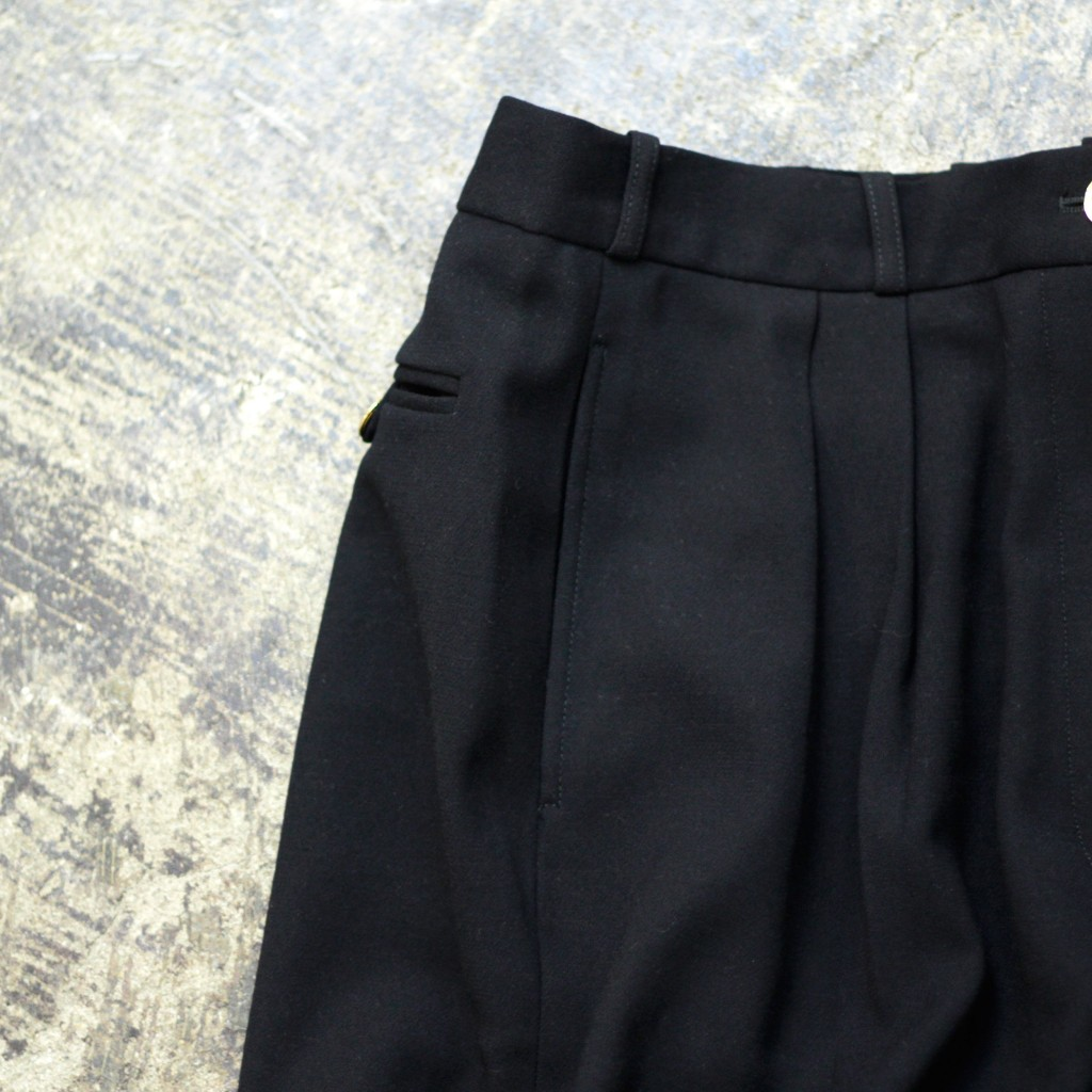 CHANEL Vintage hiwaist Tuck Pant