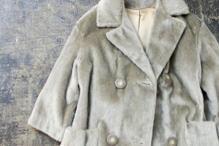 Sutton Place Vintage 1960′s Fur Coat