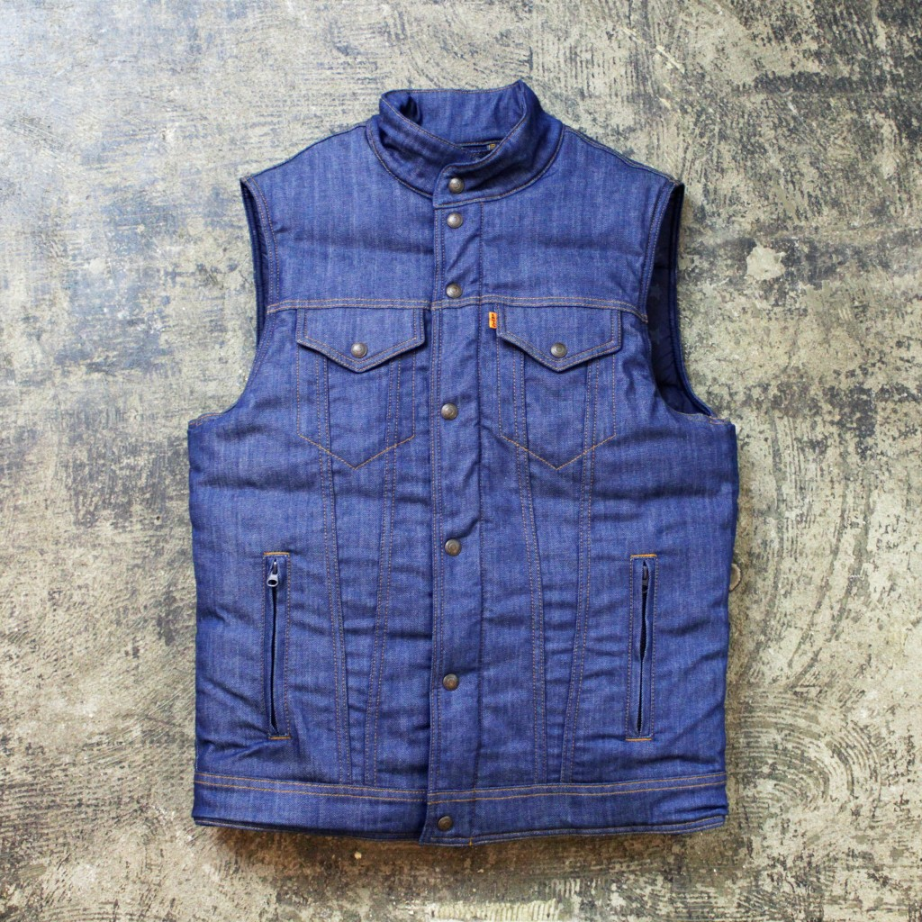 supreme × LEVI'S Denim Down Vest 2011 F/W