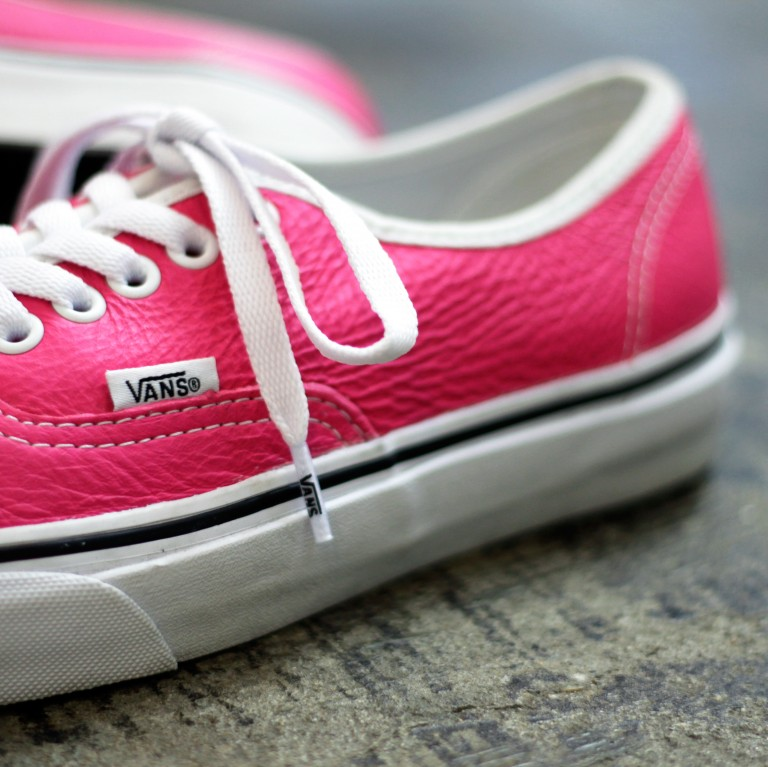 "VANS Authentic Leather ""PINK"""