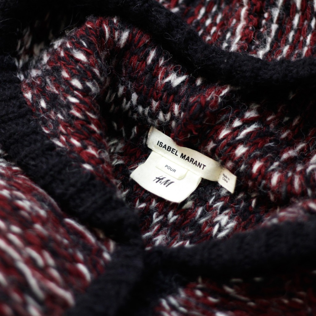 ISABEL MARANT × H&M Color Knit Zip Up Cardigan