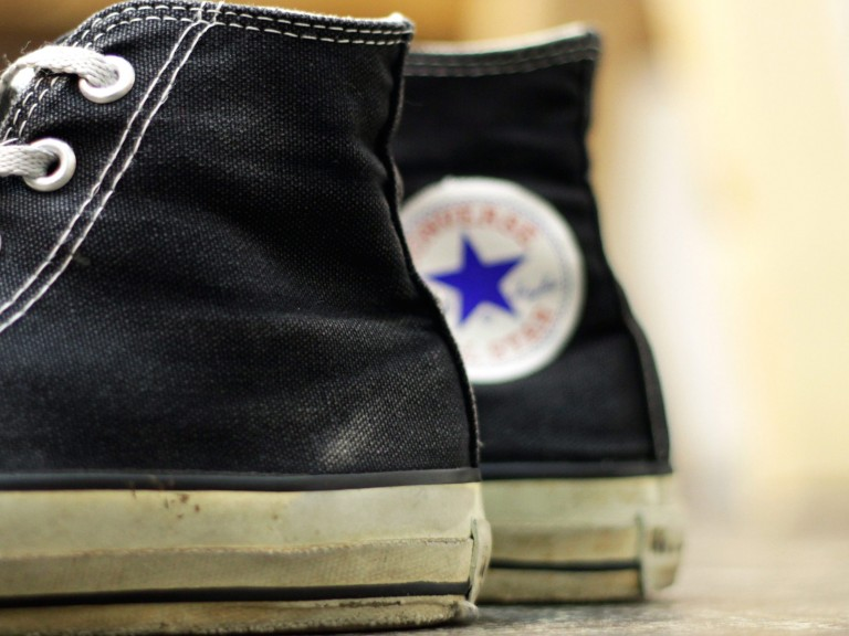 "CONVERSE 90′s Vintage All Star Hi ""Made in U.S.A"""