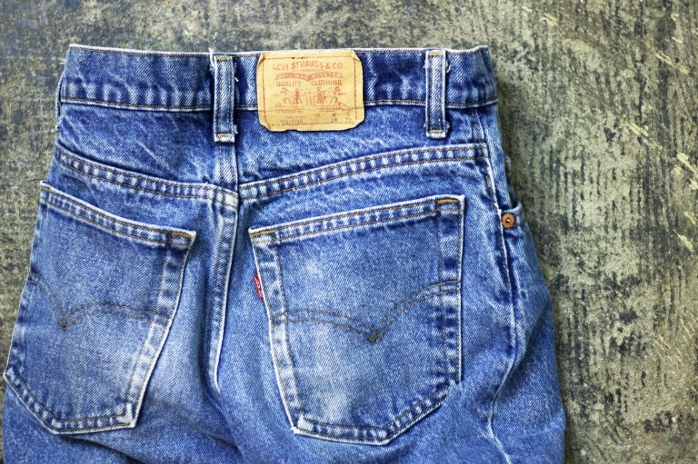 "Levi's Vintage 720 80′s Denim ""made in U.S.A"""