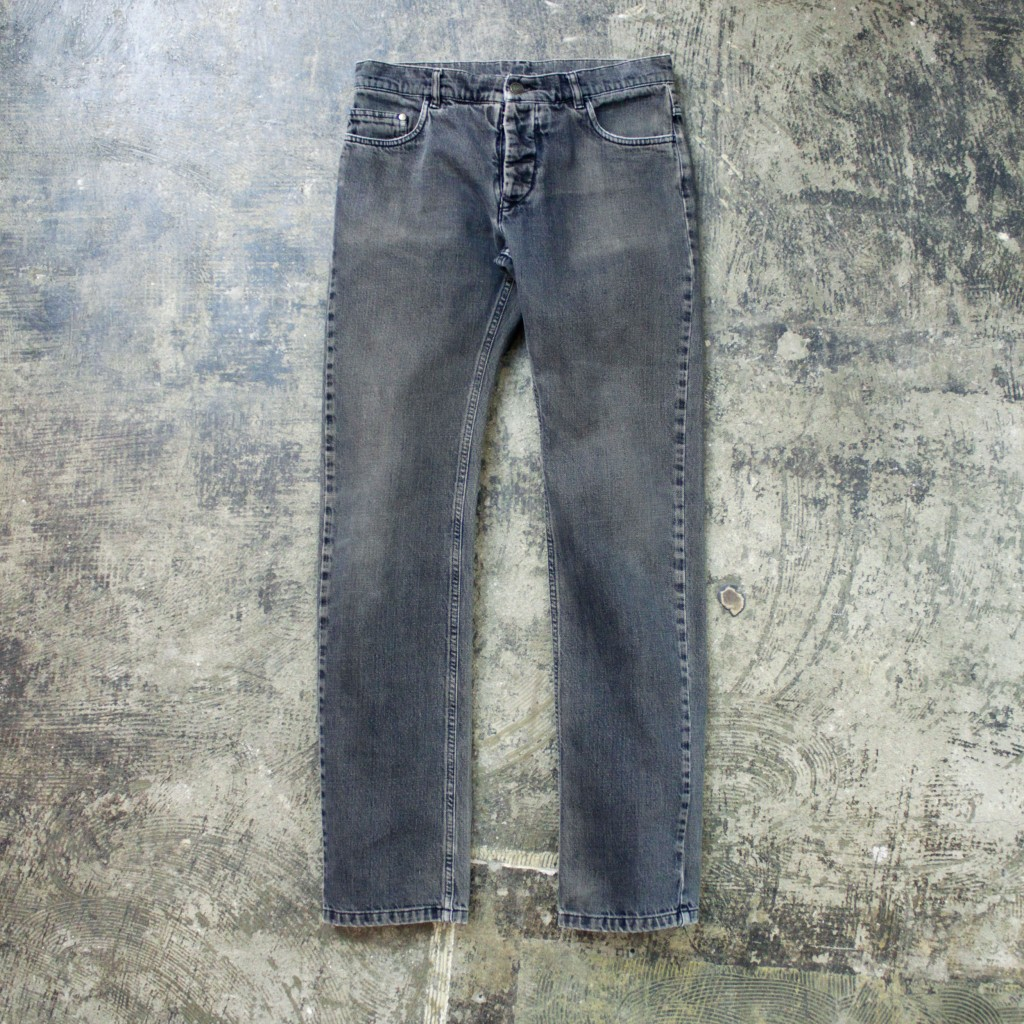 Masion Martin Margiela ⑩  Slim Black Denim