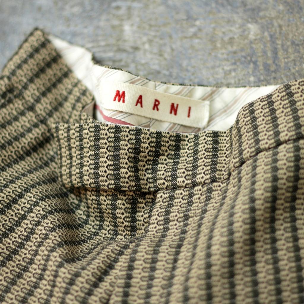 MARNI Jacquard Wide Pant