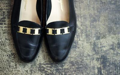 Salvatore Ferragamo Vintage Flat Shoes