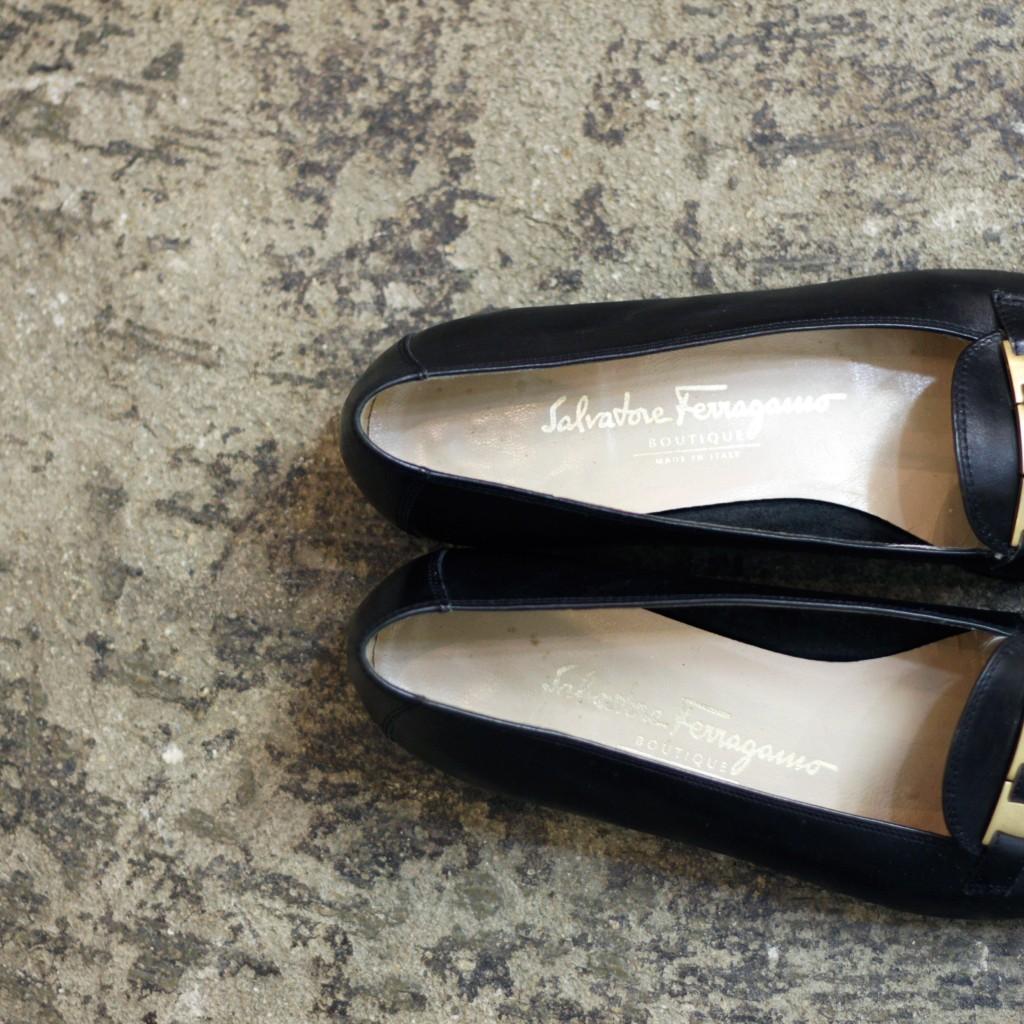 Salvatore Ferragamo Vintage Leather Loafer