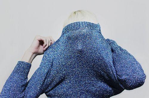 J.CREW Glitter Crew Knit