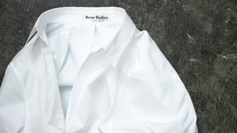 Acne Studios Over Line White Shirt