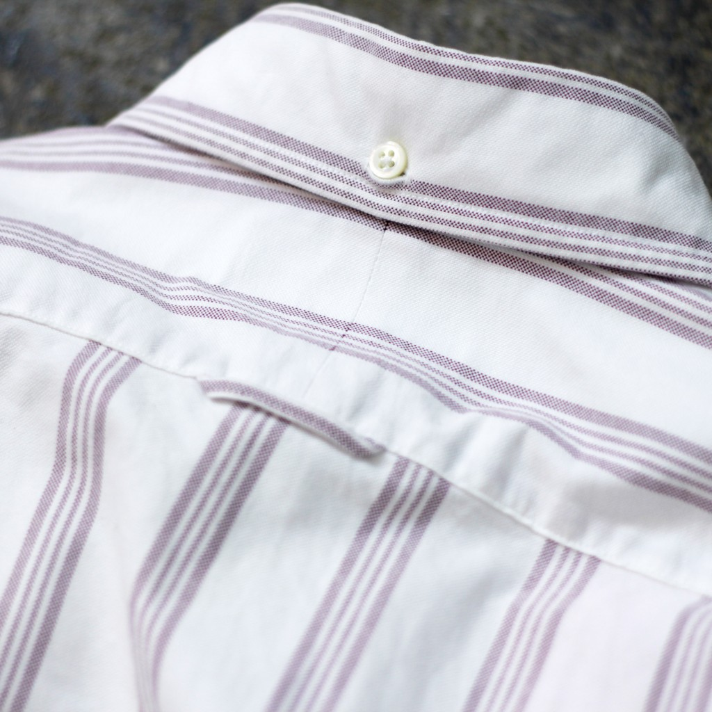 THOM BROWNE. NEW YORK OX Ford Stripe Shirt