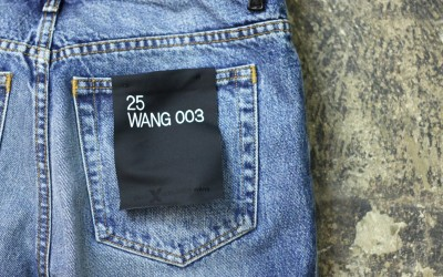 "DENIM × ALEXANDERWANG Boy Fit Denim ""WANG 003″"