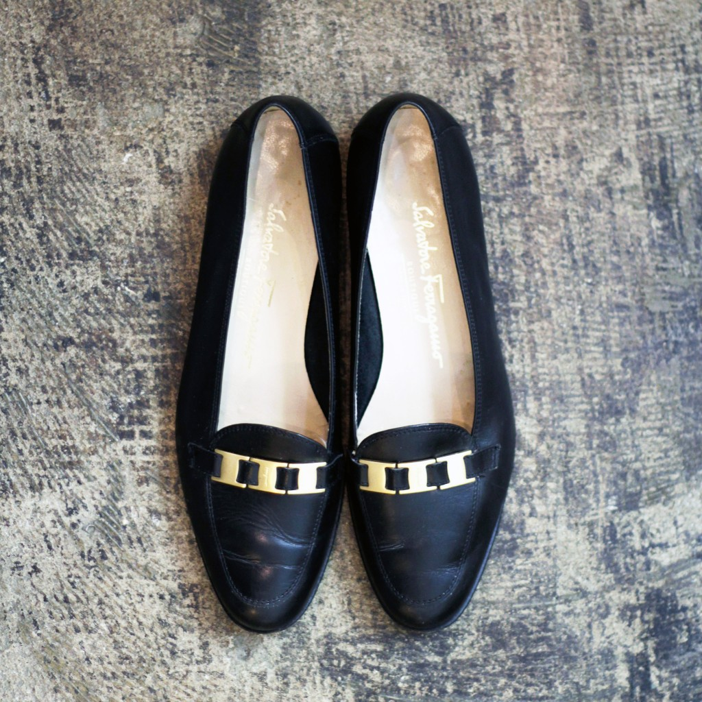 Salvatore Ferragamo Vintage Leather Loafer