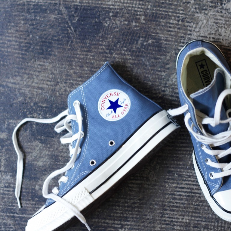 "CONVERSE First String 1970 Chuck Taylor Hi ""BLUE COAST"""