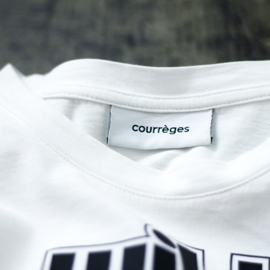 Courrèges Graphic  T-Shirt
