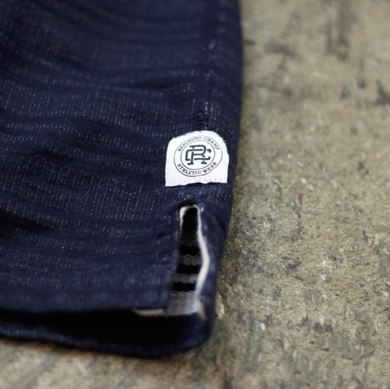 REIGNING CHAMP Reversible S/S Crewneck Sweatshirt