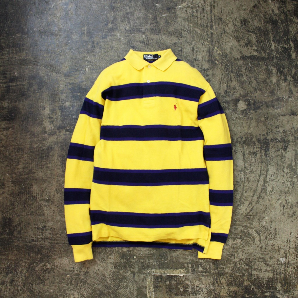 POLO by Ralph Lauren L/S Border Polo Shirt