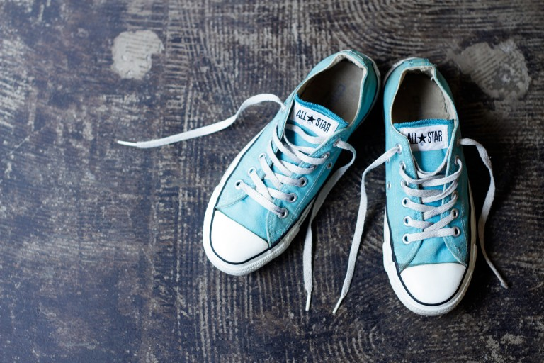 "CONVERSE 90′s Vintage All Star Low ""Turquoise"""