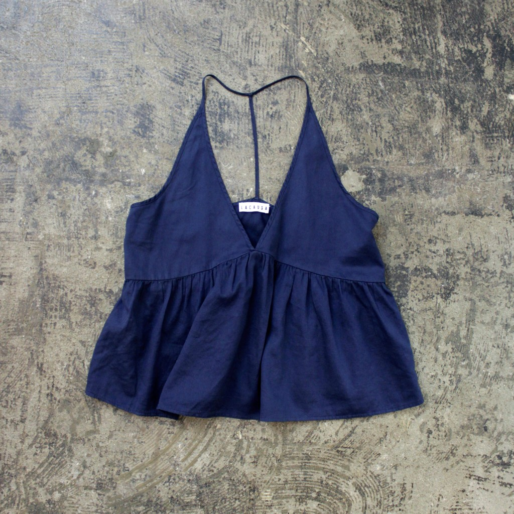 LACAUSA Back T Camisole