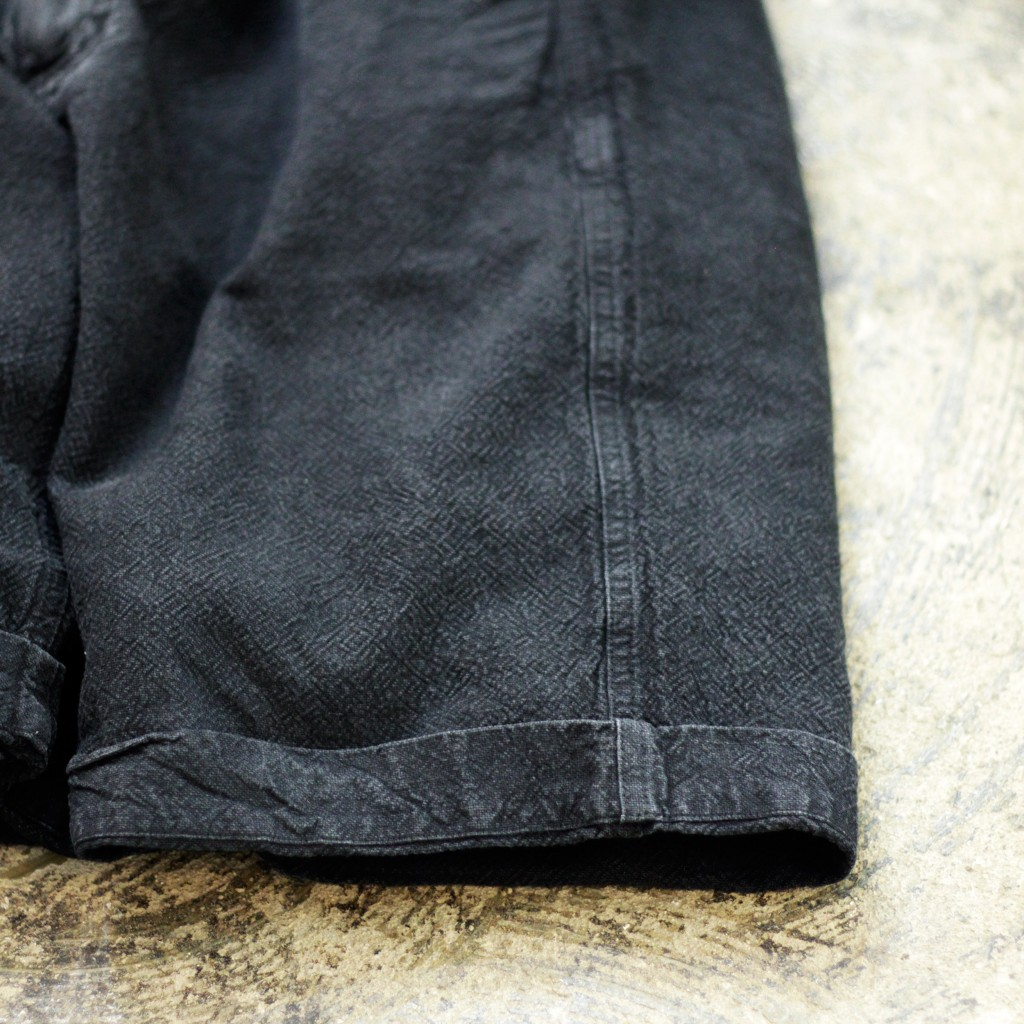 "OUR LEGACY Linen×Cotton Shorts ""SAND BLACK"""