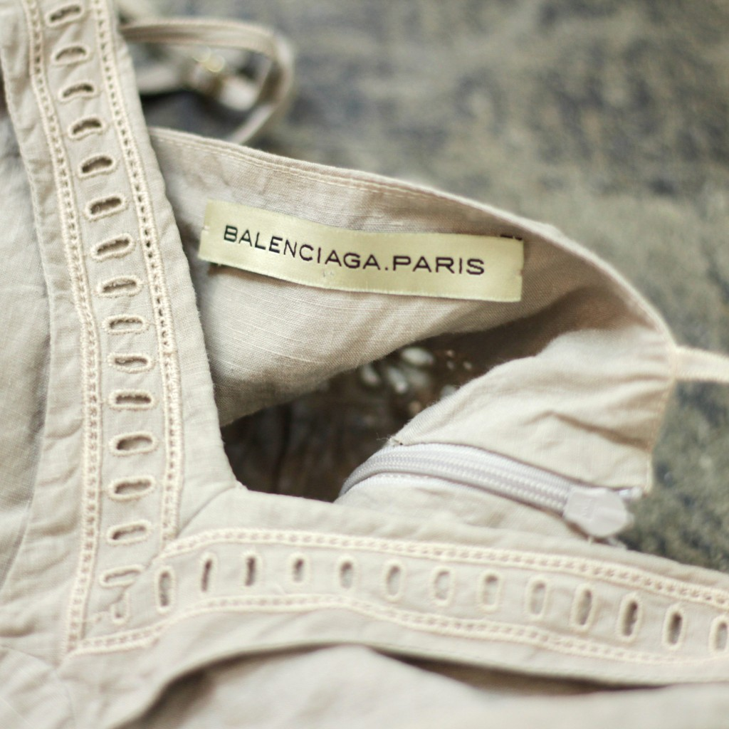 BALENCIAGA Side Lace Up Camisole