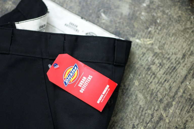 Dickies × Urban Outfitters  Jet Black Trousers