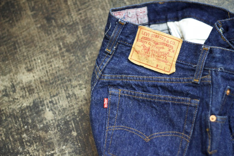 "Levi's Vintage 1980′s 501 Denim Made in U.S.A ""Girl's Model"""