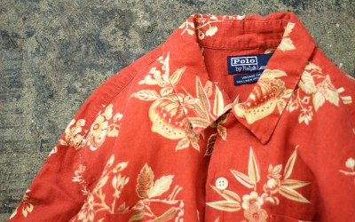 "POLO by Ralph Lauren Aloha Shirts ""VINTAGE CAMP"""