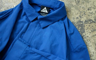NIKE Lab ACG Zip Up Tech Shirt