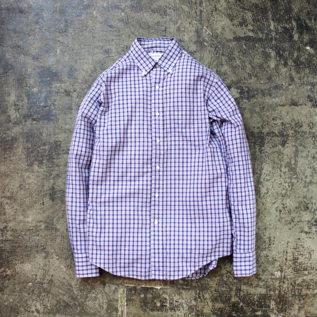 THOM BROWNE. B.D. Check Shirts