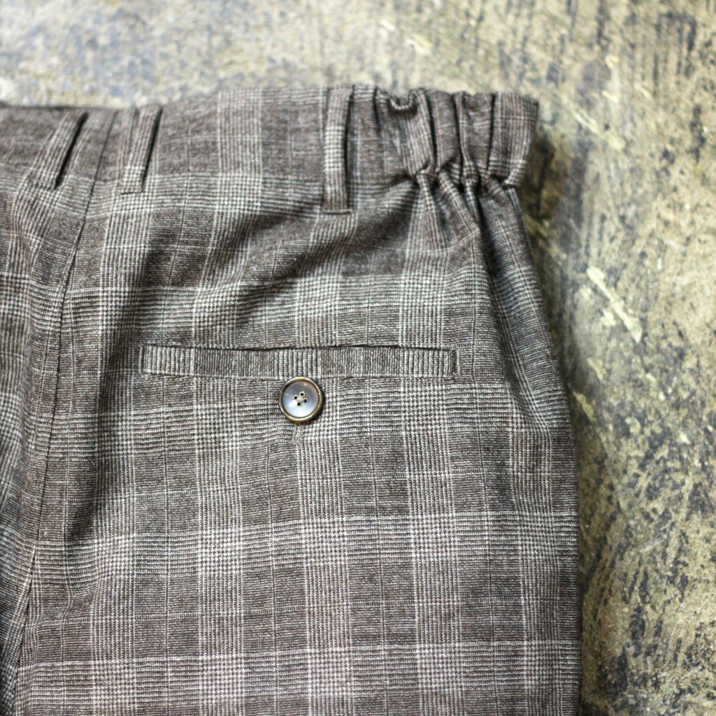 "The GREAT ""Glen Check"" Trousers"