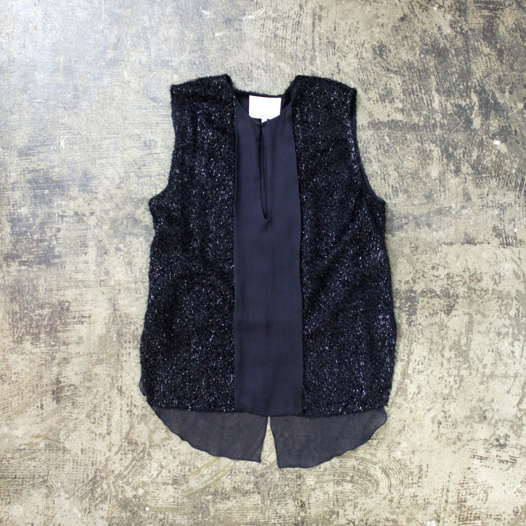 3.1 phillip lim N/S Lame Shaggy knit
