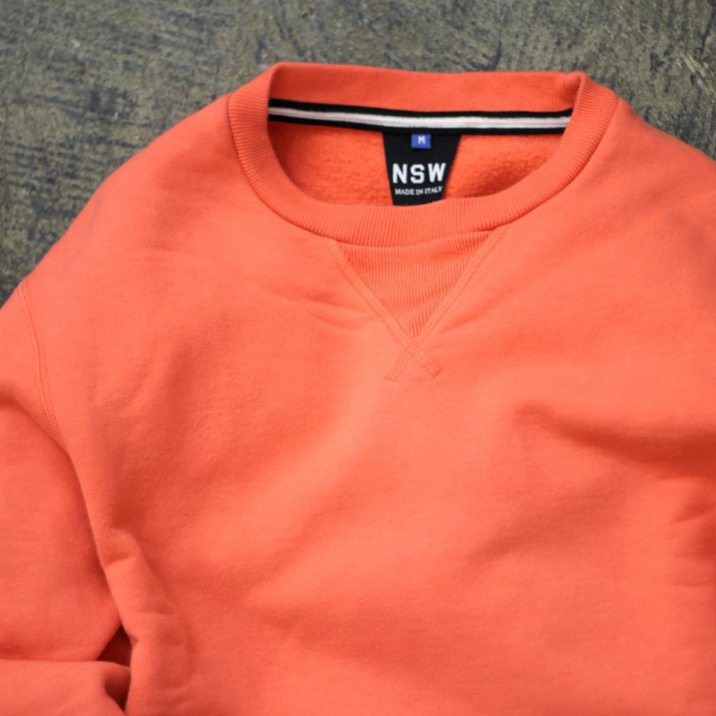 "NSW Collection Crew Neck Sweat ""Made in ITALY"""