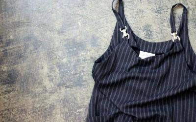 Tres Paquette Vintage Long Salopette Skirt