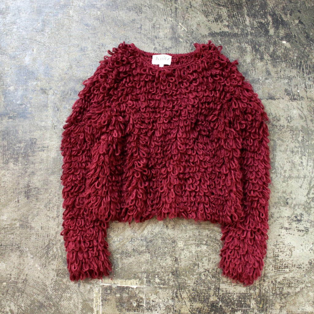 KNITZ Loop knit