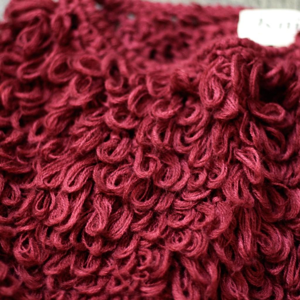 KNITZ Loop knit