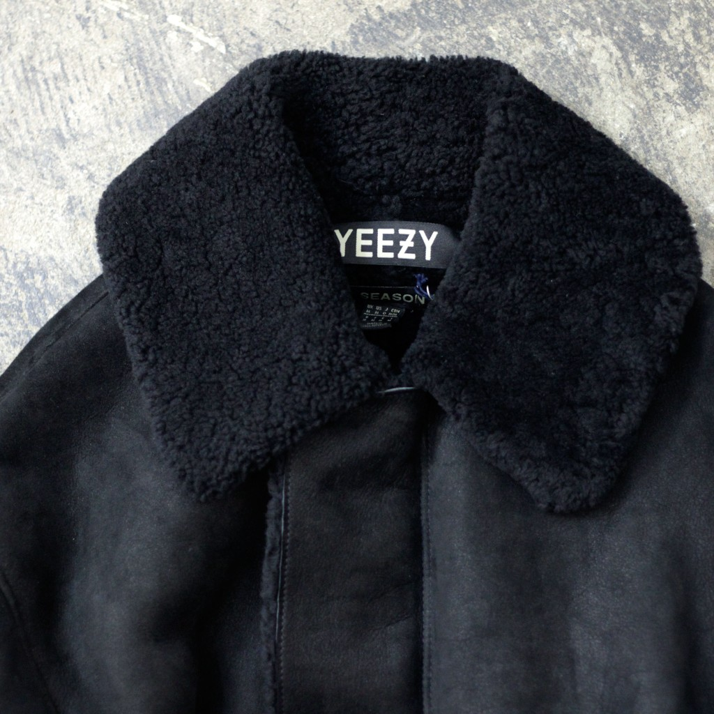 YEEZY Season 1 Long Mouton Coat