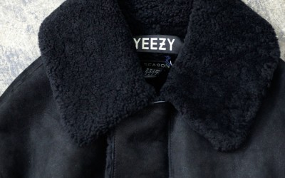 YEEZY Season 1  Long Shearling Mouton Coat