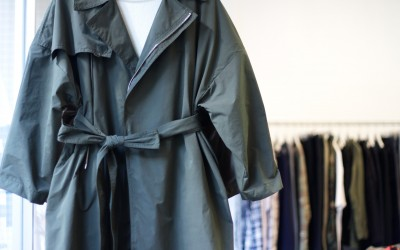 "by mo New Delivery ""Trench Coat"""