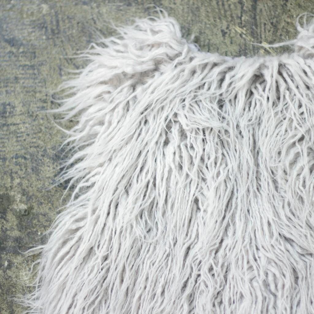 JOA Shaggy Fur Vest