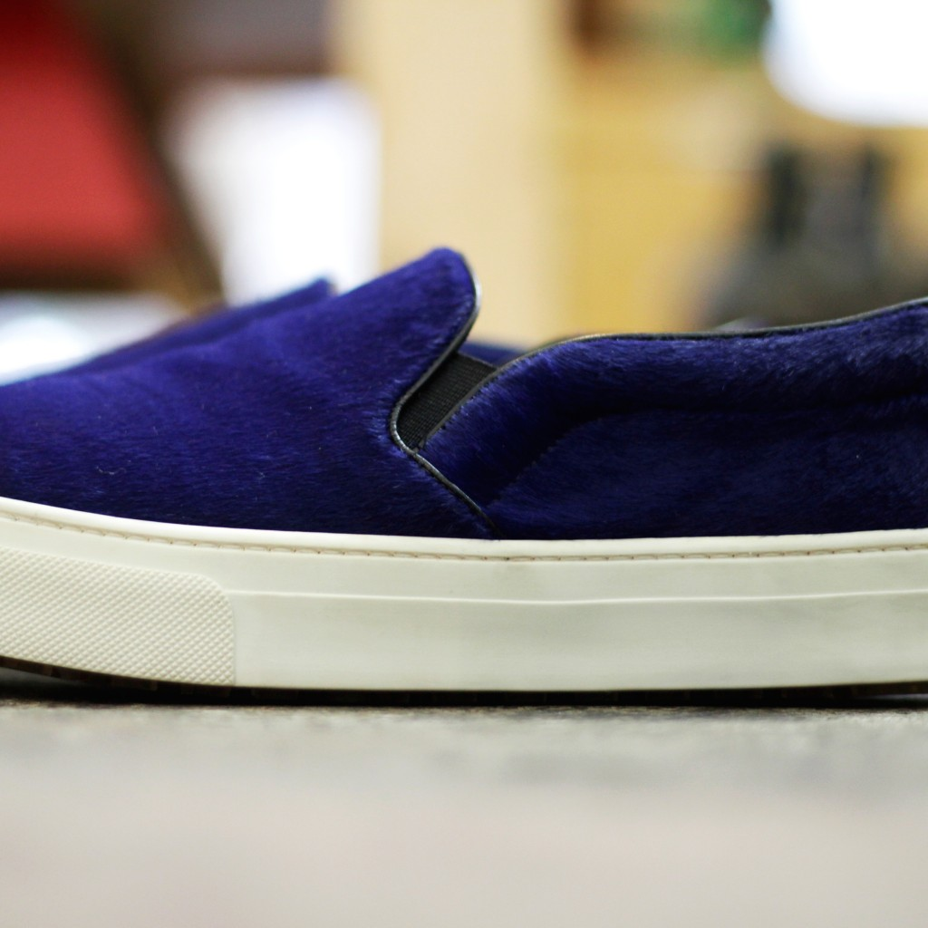 "CELINE Skate Slip-On Sneaker ""Pony Hair"""